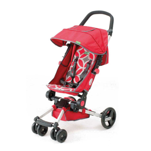 Move by Playette Easy fold Stroller - Geometric Red/Grey