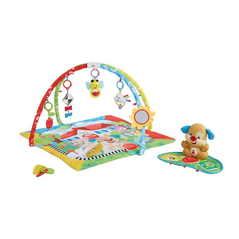Fisher-Price Puppy 'n Pals Learning Baby Play Gym