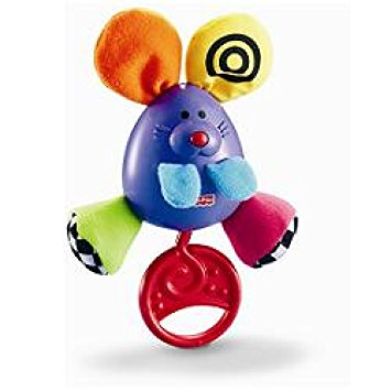 Fisher Price Miracles & Milestones Shake & Chime Mousey