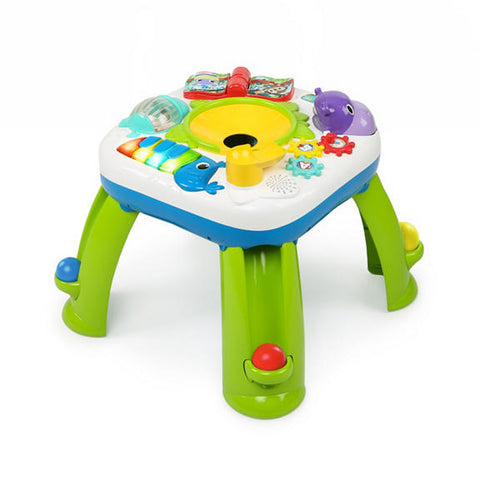 Having a Ball Get Rollin' Activity Table bright starts baby toy