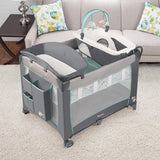 Ingenuity Smart and Simple Playard - Candler - baby camp cot
