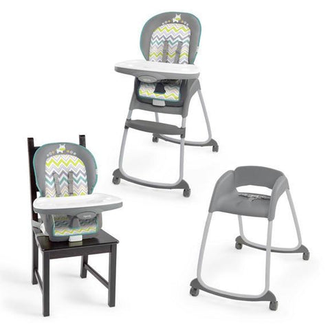 Ingenuity Ridgedale Set | Baby Camp Cot + Swing + Feeding Chair
