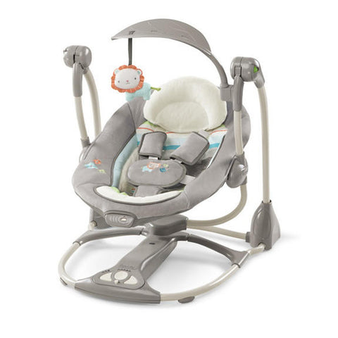 Ingenuity baby ConvertMe Swing-2-Seat Portable Swing - Candler