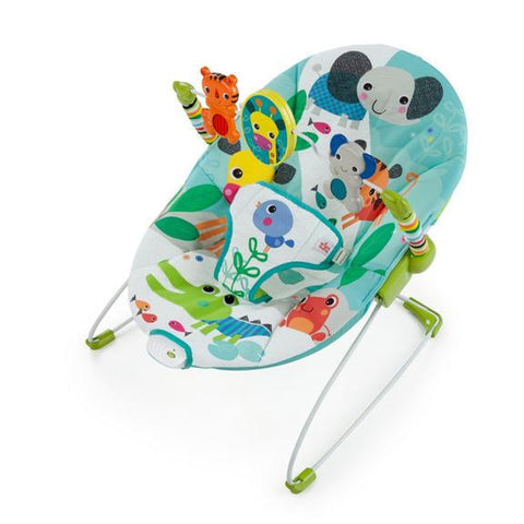 bright starts jungle stream bouncer smiling rainbow online baby store johannesburg