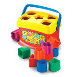 K7167 Baby's First Blocks smiling rainbow fisher price