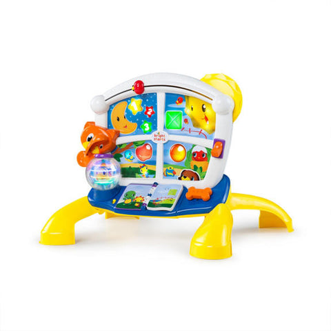 Learn Giggle activity play station baby bright starts smiling rainbow