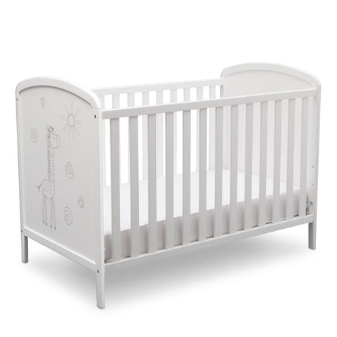 Modbaby 3-in-1 Wooden Baby Crib