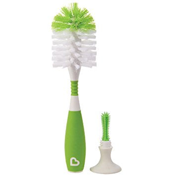 Munchkin Bristle™ Bottle Brush (Green)