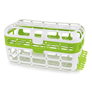Munchkin High Capacity Dishwasher Basket (Green)