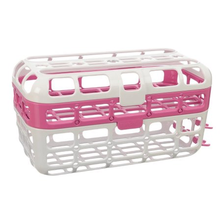 Munchkin High Capacity Dishwasher Basket (Pink)