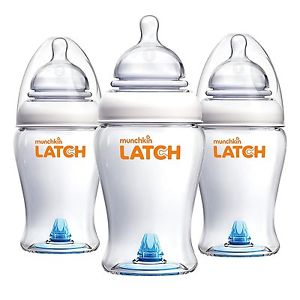 Munchkin LATCH™ 240ml Bottle - 3 pack