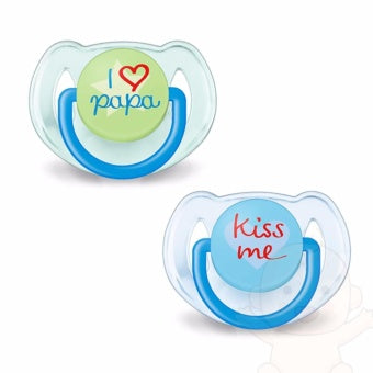Philips Avent Fashion Orthodontic Soothers 6-18M