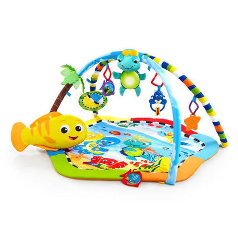 Rhythm of the Reef baby play gym smiling rainbow einstein
