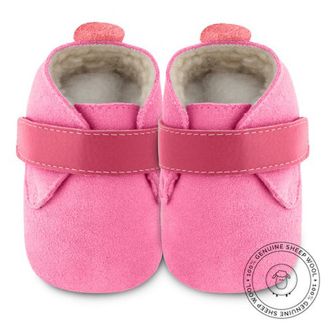Shooshoos - Cherry Bomb Winter Baby Shoes - Genuine Wool