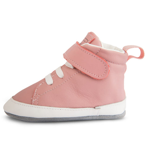 Shooshoos - City Of Lights High Top Soft Leather Baby Shoes