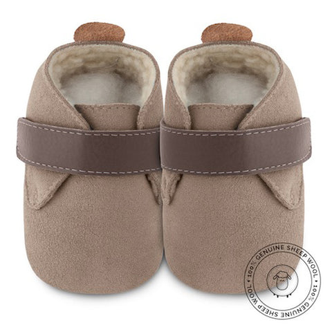 Shooshoos - Malted Barley Baby Shoes - Genuine Wool