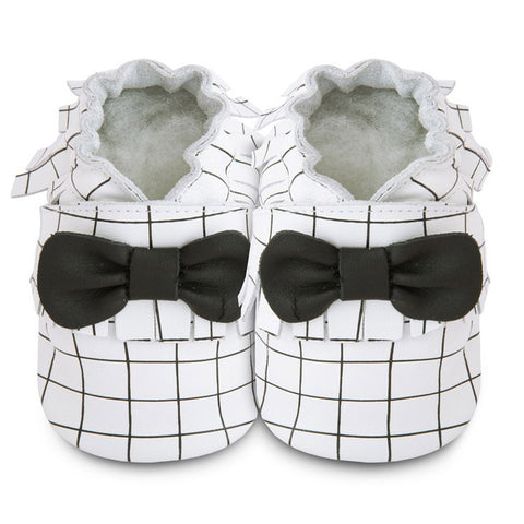 Shooshoos - Matrix Baby Shoes With Bow-Tie