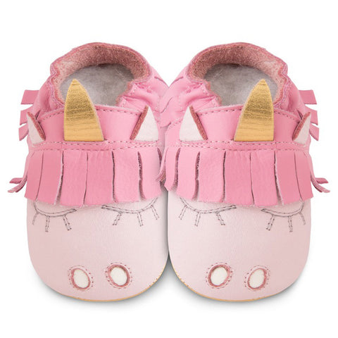 Shooshoos - Unicorn Leather Baby Shoe