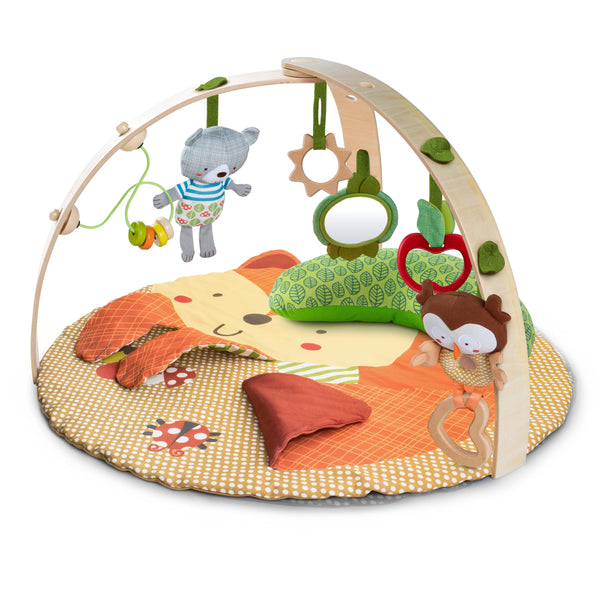 Simply Bright Starts Fox & Friends Baby Activity Gym