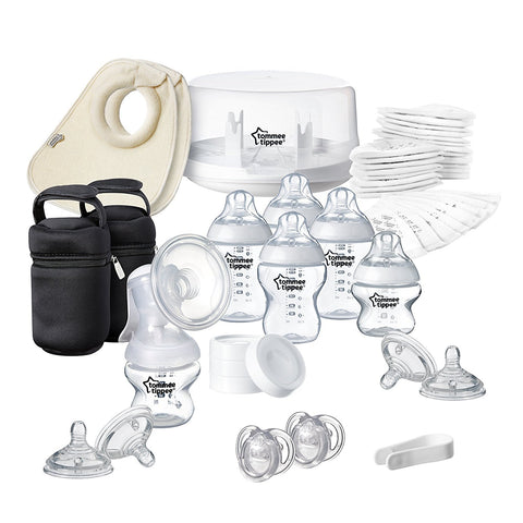 Tommee Tippee Closer to Nature Microwave Steriliser & Breast Pump Set