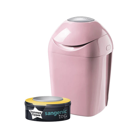 Tommee Tippee Sangenic Tec Nappy Disposal System - Pink