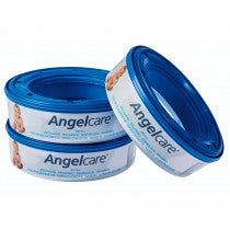Angelcare Nappy Diaper Disposal Refills - 3 pack