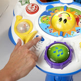 baby einstein musical activity table play smiling rainbow