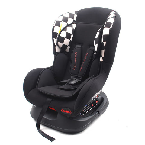 chelino blazer red black car seat