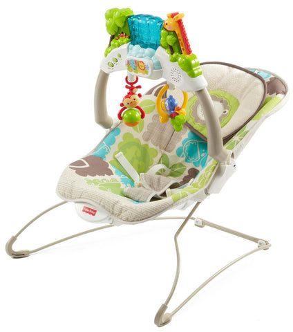 deluxe bouncer rainforest friends