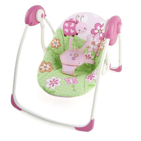 meadow blossoms portable swing bright starts