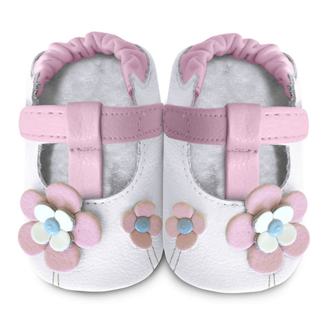rose petal delight 101030 leather baby shoes shooshoos