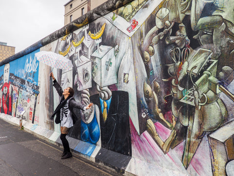 Best cities in the world- Berlin, Germany - woman standing in front of grafitti