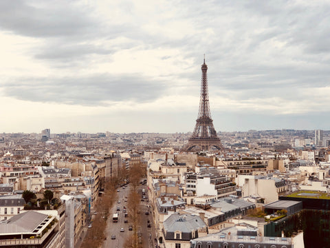 best cities in the world for art - image of the eiffel tower in paris