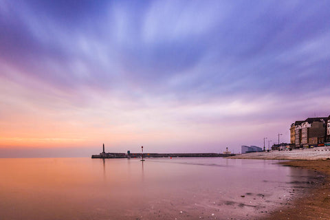 Best Cities in the world for artists - Margate, UK sunset