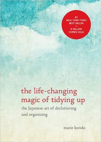 image of marie kondo's book the life-changing magic of tidying up