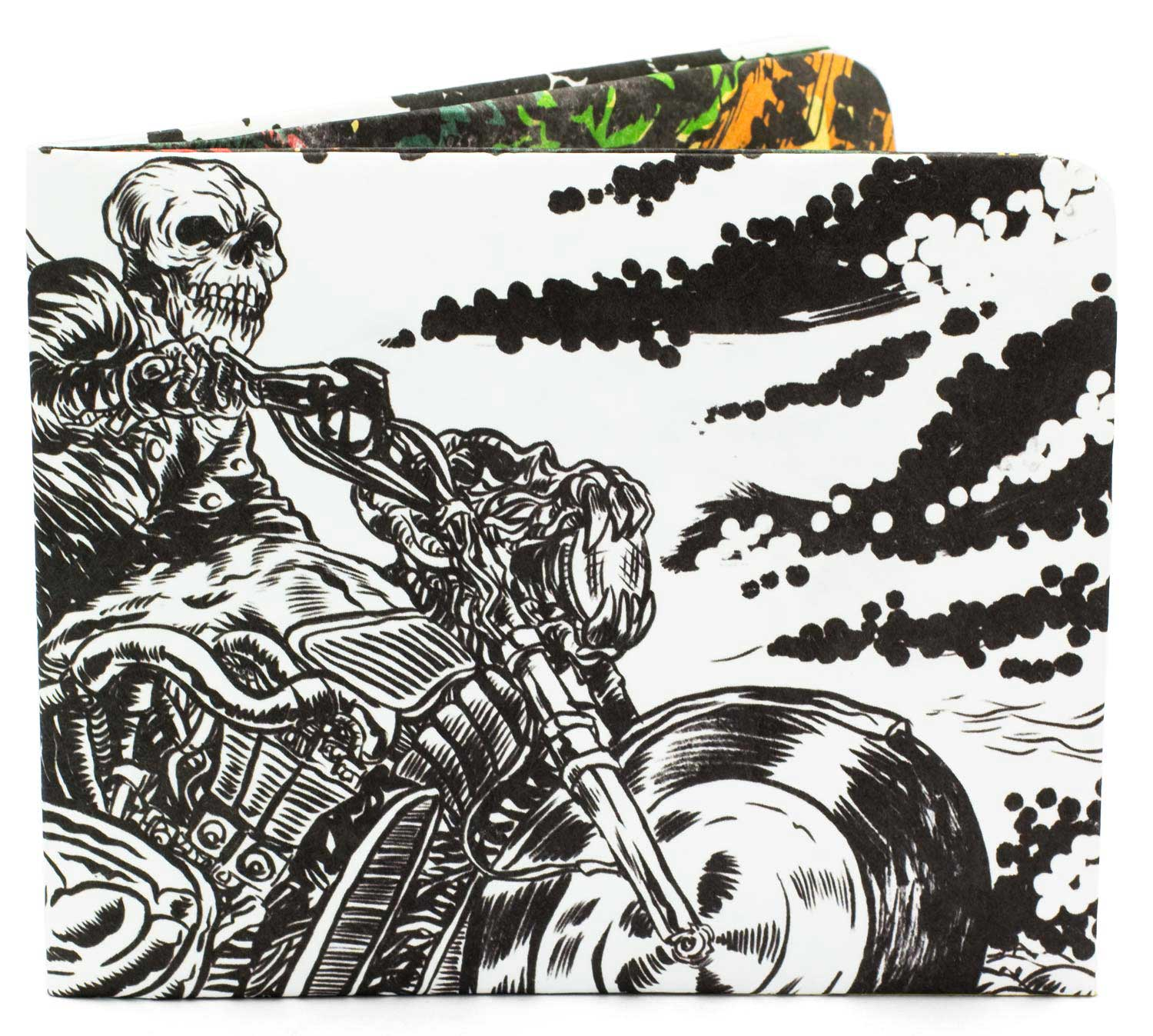 'Ghost Rider' Slim Wallet