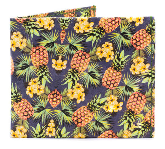 'Tropical Pine' Flat Wallet