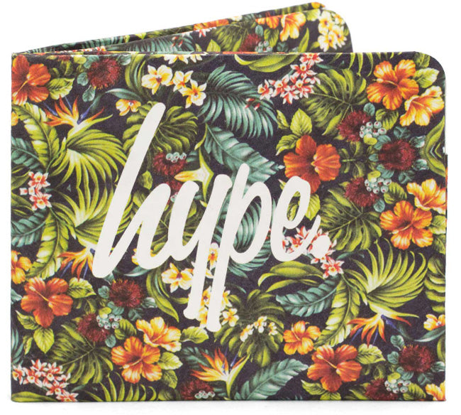 'Hype - Floral' Slim Wallet