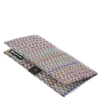 'Geometric-Japan' Clutch Wallet