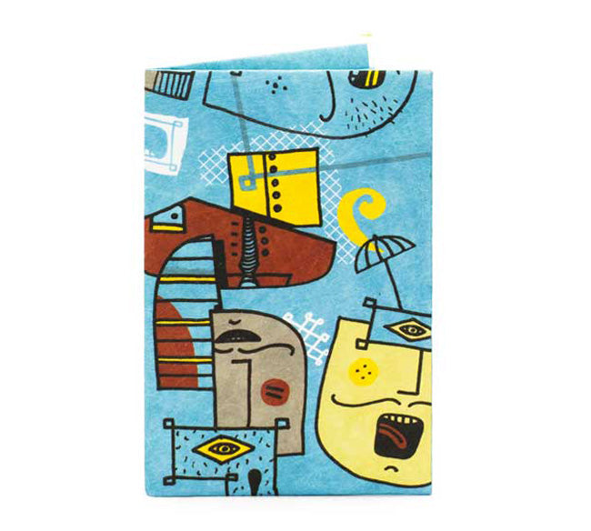'Deep Blue' Card Wallet