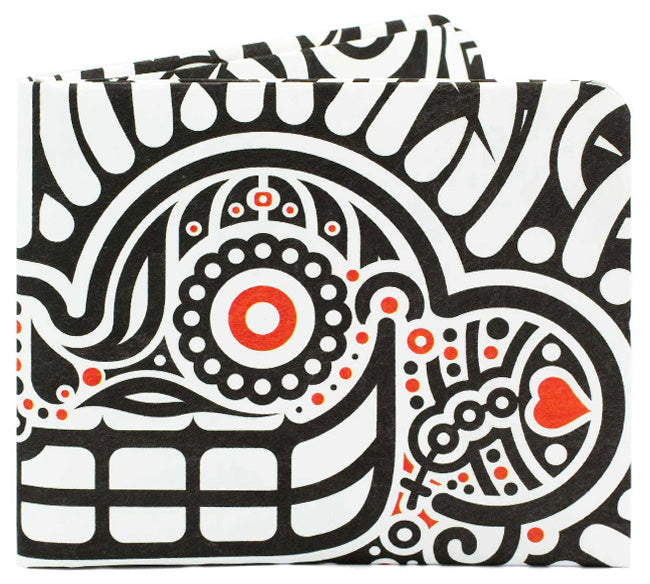 'Aztec Smile' Slim Wallet