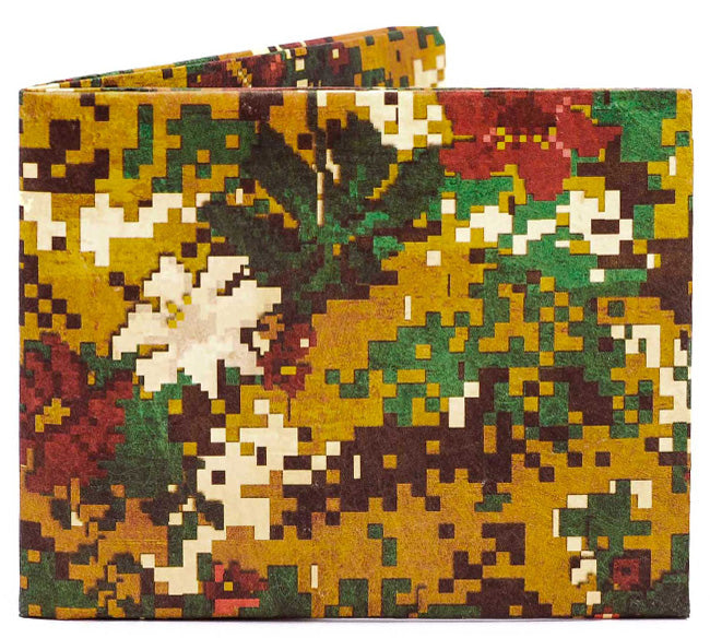 Peace Camo Slim Wallet