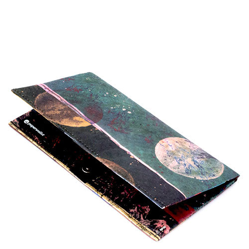 Lunar Path Clutch Wallet | RFID Protection