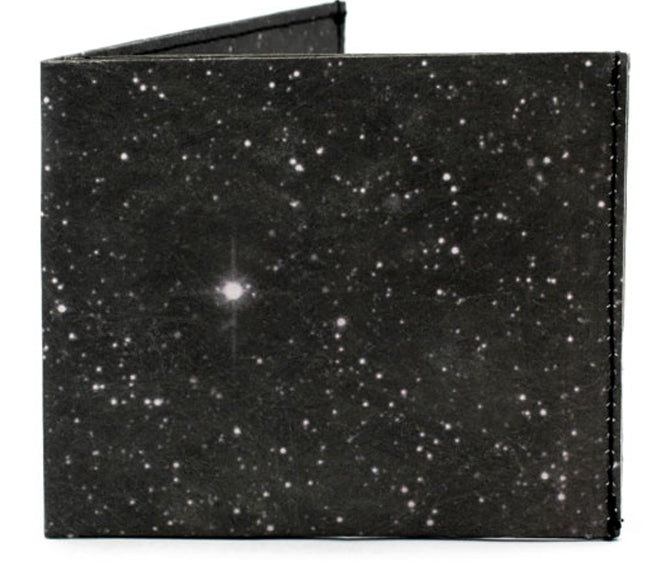 'Night Black' Flat Wallet