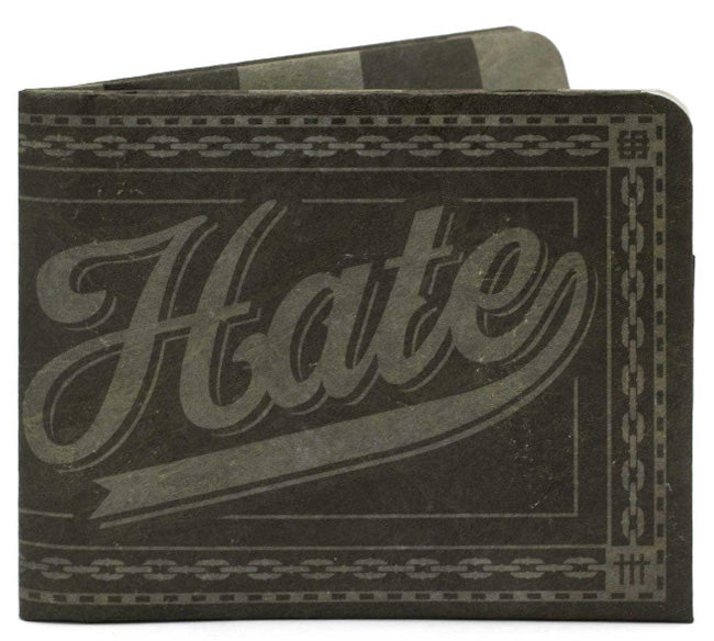 'Hate What You Will' Slim Wallet