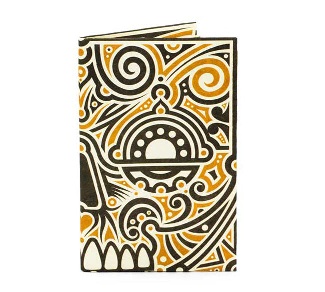 Aztec Skull Card Wallet