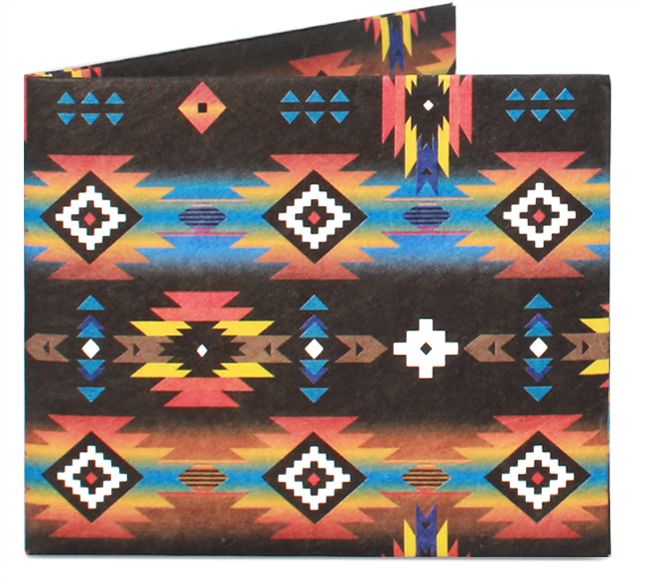 'Tribal Aztec' Slim Wallet