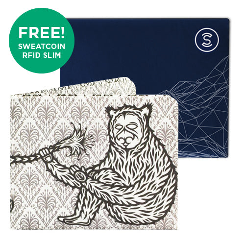 Streetgrapes + Sweatcoin RFID Wallet