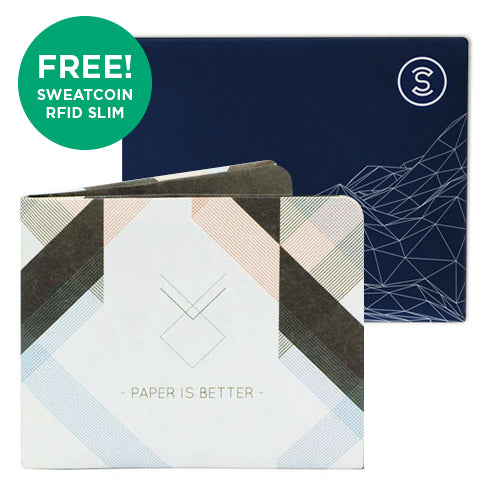 The Architect + Sweatcoin RFID Wallet