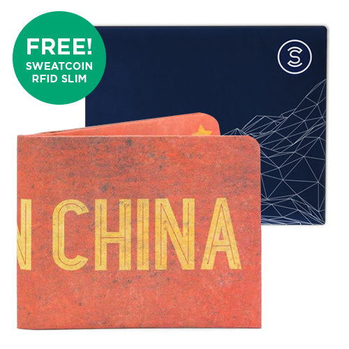 Made in China + Sweatcoin RFID Wallet